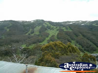 View of Thredbo . . . CLICK TO ENLARGE