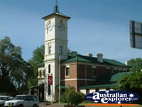 Cootamundra Post Office Clock . . . CLICK TO ENLARGE