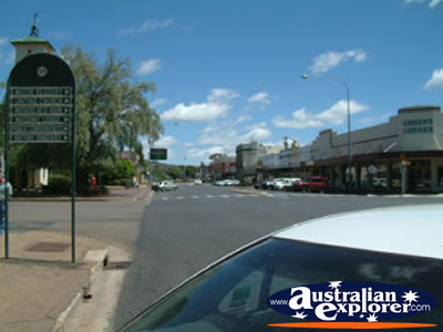 Cootamundra Street . . . CLICK TO VIEW ALL COOTAMUNDRA POSTCARDS