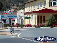 Roundabout on Bombala Street . . . CLICK TO ENLARGE