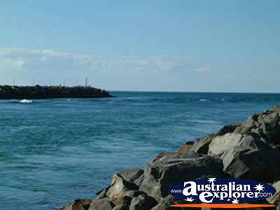 Forster from Rocks . . . VIEW ALL FORSTER PHOTOGRAPHS