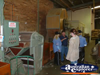 Akubra Hat Factory Tour Machinery . . . CLICK TO ENLARGE