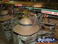 Akubra Hat Factory Tour . . . CLICK TO ENLARGE