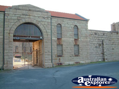 Trial Bay Gaol Entrance . . . VIEW ALL TRIAL BAY (GAOL) PHOTOGRAPHS