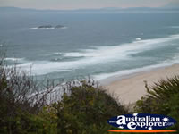 View of Tuncurry Beach . . . CLICK TO ENLARGE