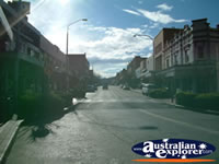 Main Street in Lithgow . . . CLICK TO ENLARGE