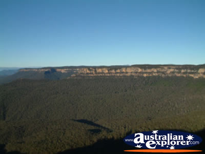 Katoomba Echo Point View . . . CLICK TO VIEW ALL KATOOMBA POSTCARDS