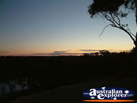 Narrandera Lake Talbot Caravan Park Sunset . . . CLICK TO ENLARGE