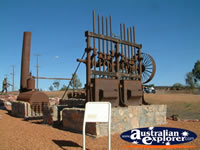Cobar Miners Memorial Machinery . . . CLICK TO ENLARGE