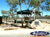 The rest stop on the road to Wilcannia . . . CLICK TO ENLARGE