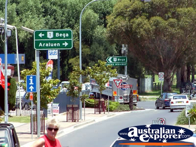 Moruya Street Signs . . . CLICK TO VIEW ALL MORUYA POSTCARDS