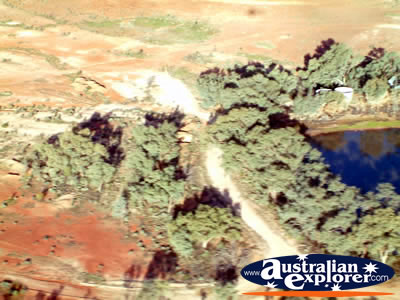 New South Wales White Cliffs Amazing Views from the Sky . . . VIEW ALL WHITE CLIFFS FROM THE AIR PHOTOGRAPHS