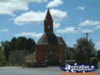 Boorowa Town Clock . . . CLICK TO ENLARGE