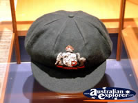 The Bradman Museum at Bowral Australian Cricket Hat . . . CLICK TO ENLARGE
