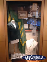 The Bradman Museum at Bowral Cricket Gear Display . . . CLICK TO ENLARGE