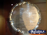 The Bradman Museum at Bowral Plate . . . CLICK TO ENLARGE