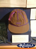 The Bradman Museum at Bowral Brown Cricket Hat . . . CLICK TO ENLARGE