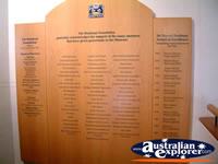 The Bradman Museum at Bowral Memorable Names . . . CLICK TO ENLARGE