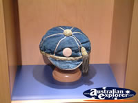 The Bradman Museum at Bowral Cricket Hat . . . CLICK TO ENLARGE