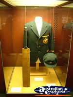 The Bradman Museum at Bowral Cricket Gear and Clothing . . . CLICK TO ENLARGE