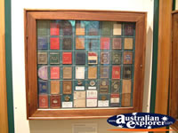Medallions at The Bradman Museum at Bowral . . . CLICK TO ENLARGE