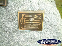 Tamworth Ernie Constance Award . . . CLICK TO ENLARGE