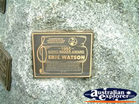 Tamworth Eric Watson Award . . . CLICK TO ENLARGE