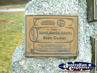 Tamworth Stan Coster Award . . . CLICK TO ENLARGE