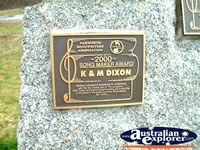 Tamworth K&M Dixon Award . . . CLICK TO ENLARGE