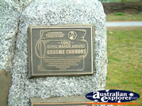 Tamworth Graeme Connors Award . . . CLICK TO ENLARGE