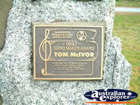 Tamworth Tom McIvor Award . . . CLICK TO ENLARGE