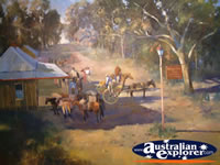 Painting on Display in Uralla Museum . . . CLICK TO ENLARGE