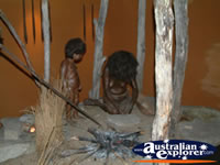 Uralla Museum Aboriginal Display . . . CLICK TO ENLARGE