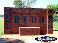 Narromine Memorial Wall . . . CLICK TO ENLARGE