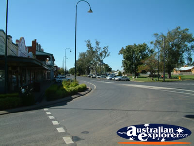 Narromine Street Corner . . . VIEW ALL NARROMINE PHOTOGRAPHS