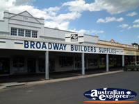 Junee Broadway Builders Supplies Entrance . . . CLICK TO ENLARGE