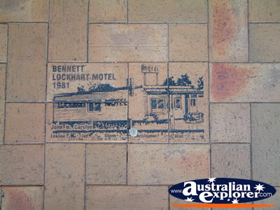 Lockhart Drawings and History in Footpath . . . VIEW ALL LOCKHART PHOTOGRAPHS