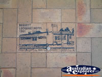 Lockhart Drawings and History in Footpath . . . CLICK TO ENLARGE