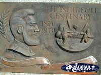 Uralla Plaque for Thunderbolt Centenary . . . CLICK TO ENLARGE