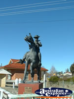Captain Thunderbolt Statue, Uralla . . . CLICK TO ENLARGE