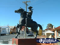Captain Thunderbolt Statue At Uralla . . . CLICK TO ENLARGE