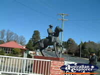 Captain Thunderbolt Statue . . . CLICK TO ENLARGE