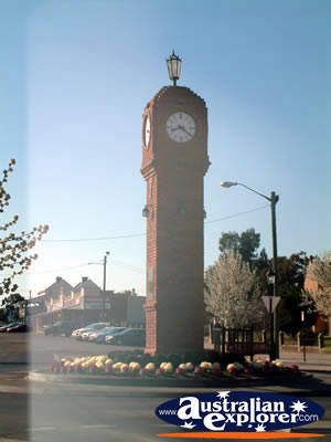 Mudgee Town Clock . . . VIEW ALL MUDGEE PHOTOGRAPHS