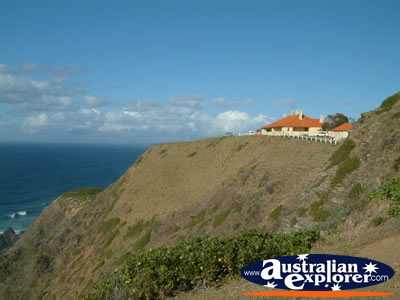 Byron Bay Lighthouse View . . . CLICK TO VIEW ALL BYRON BAY (LIGHTHOUSE) POSTCARDS