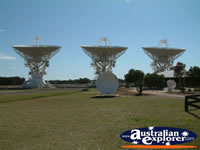 Australian Telescope Dishes in Narrabri . . . CLICK TO ENLARGE