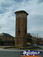 Coonabarabran Town Clock . . . CLICK TO ENLARGE