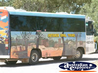 Lightning Ridge Tour Bus . . . CLICK TO ENLARGE