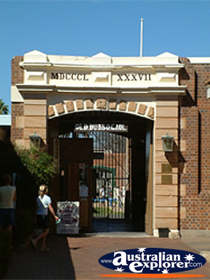 Old Dubbo Gaol . . . CLICK TO VIEW ALL DUBBO POSTCARDS