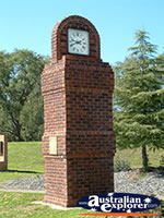 Gilgandra Town Clock . . . CLICK TO ENLARGE