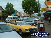 Cars parked on a Cooma Street . . . CLICK TO ENLARGE